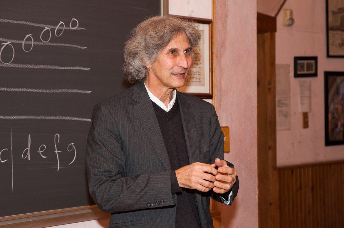 A guest lecturer