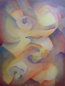 abstract watercolor