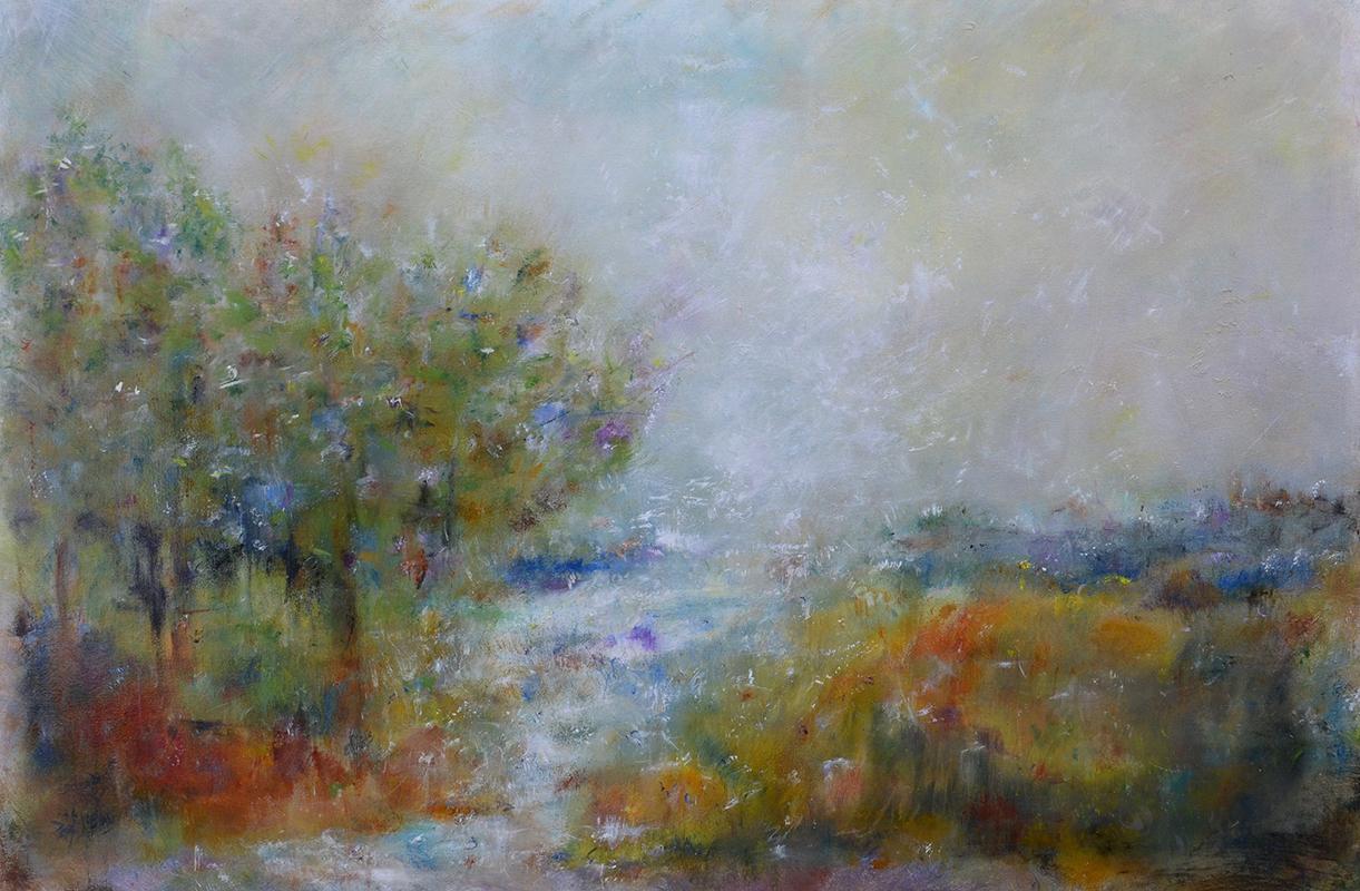 visual art student work landscape