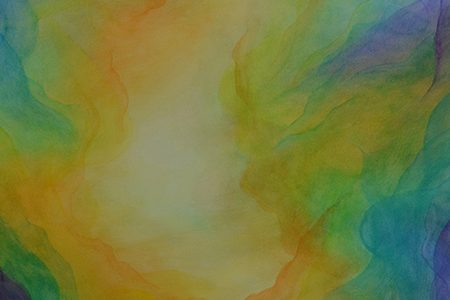 watercolor layer painting abstract